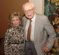 June Foray and Frederic Back at the Academy of Motion Picture Arts and Sciences.