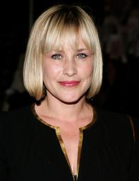 Patricia Arquette at the opening of 'Waist Down - Skirts By Miuccia Prada'.