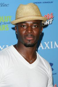 Taye Diggs at the Maxim's Pre-Super Bowl XLI Party.