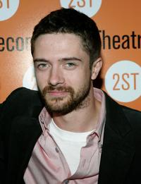 Topher Grace at the opening of