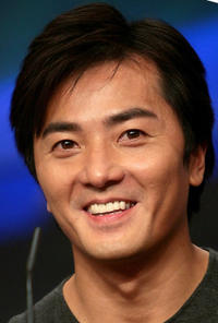 Ekin Cheng at the press conference to promote new TV series