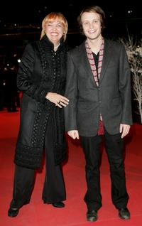 Claudia Roth and August Diehl at the Golden Bear Award Ceremony during the 57th Berlin International Film Festival.