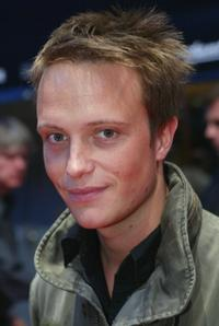 August Diehl at the Berlin premiere of