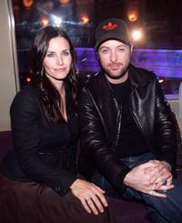 Courteney Cox and Matthew Vaughn at the San Francisco Film Festival.