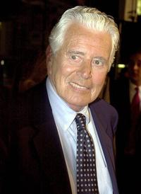 John Forsythe at the premiere of