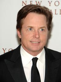 Michael J. Fox at the New York City Ballet opening night gala.