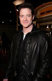 Brendan Fraser at the afterparty for the premiere of