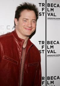 Brendan Fraser at the