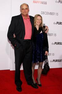 Kurt Fuller and Jessica Hendra at the world premiere of