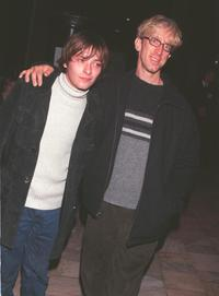 Edward Furlong and Andy Dick at the third Annual Step Up Holiday party.