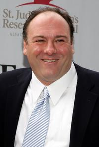 James Gandolfini at the St. Jude's Children's Research Hospital Benefit.