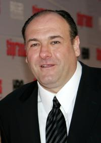 James Gandolfini at the HBO premiere of