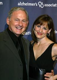 Victor Garber and Jennifer Garner at the Alzheimer's Association's 12th Annual