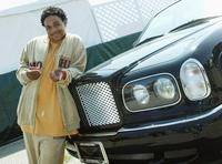 Orlando Brown at the Shaquille O'Neal's childrens benefit