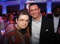 Patton Oswalt and Robert Irvine at the celebration of the releases of
