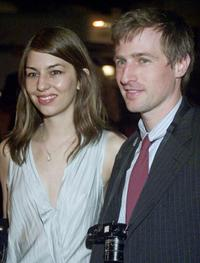 Spike Jonze and Sofia Coppola at the premiere of