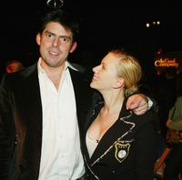 Chris Weitz and Scarlett Johannson at the premiere of
