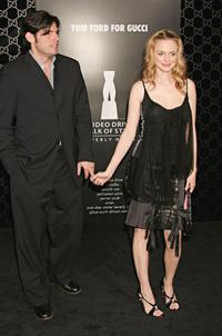 Chris Weitz and Heather Graham at the Rodeo Drive Walk of Style Event.