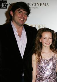 Chris Weitz and Dakota Blue at the photocall of