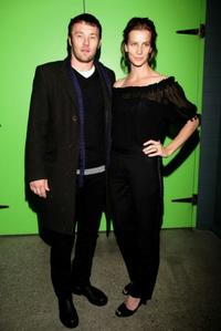 Joel Edgerton and Rachel Griffiths at the after party of the Melbourne opening night of