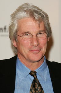 Richard Gere at the amfar and ACRIA gala benefit honoring photographer Herb Ritts in New York City.