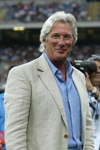 Richard Gere at the Charity Football match event in Milan, Italy.