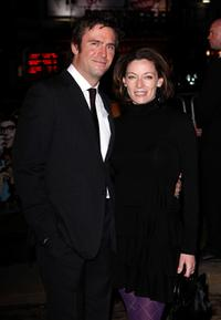 Jack Davenport and Michelle Gomez at the premiere of