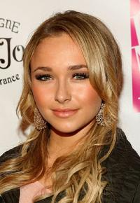 Hayden Panettiere at the 2 B Free Fall Collection fashion show.