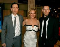 Mark Polish, Virginia Madsen and Michael Polish at the premiere of