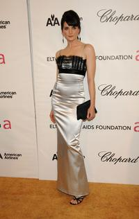 Michele Hicks at the 16th Annual Elton John AIDS Foundation Academy Awards viewing party.
