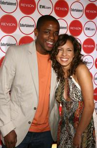 Dule Hill and Nicole Lyn at the Entertainment Weekly's 4th Annual Pre-Emmy Party.
