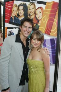 Sean Faris and Alexa Vega at the premiere of