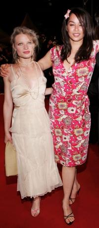 Melanie Thierry and Guest at the screening of