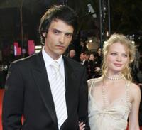 Vincent Martinez and Melanie Thierry at the screening of