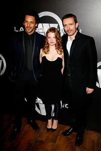 Tomer Sisley, Melanie Thierry and director Jerome Salle at the Paris premiere of
