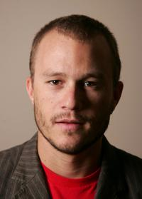 Heath Ledger at the promotion of