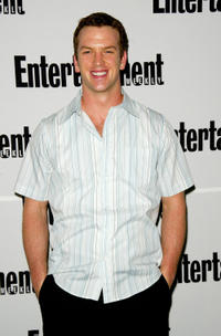 Josh Randall at the Josh Randall at EW's First Ever Photo Issue Event in New York.