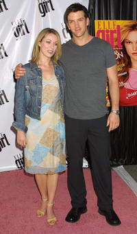 Josh Randall and Guest at the Elle Girl Party in New York.