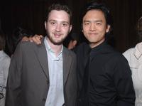 Eddie Kaye Thomas and John Cho at the Gersh Agency Celebration of Upfronts.