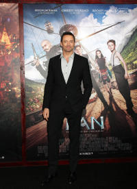 Hugh Jackman at the New York premiere of