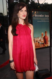 Actress Victoria Hill at the L.A. premiere of