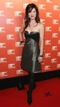 Victoria Hill at the opening Australian premiere of