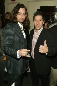 Constantine Maroulis and Ray Park at the after party of the premiere of