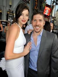Rachel Nichols and Ray Park at the special screening of