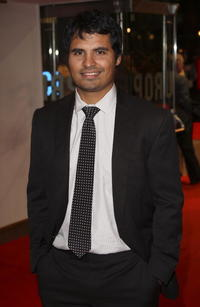 Michael Peña at the premiere of