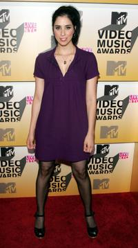 Sarah Silverman at the 2006 MTV Video Music Awards.
