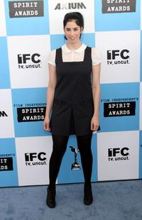 Sarah Silverman at the 22nd Annual Film Independent Spirit Awards.