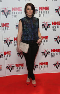 Vicky McClure at the red carpet of NME Awards 2013 in London.