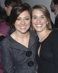 Jo Hartley and Vicky McClure at the premiere of