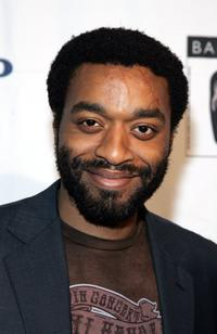 Chiwetel Ejiofor at the BAFTA/LA's Awards season tea party.